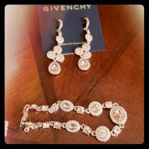 Givenchy earring and bracelet set